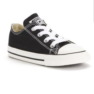 Toddler Converse All Star Chuck Low Top Sneakers 7